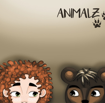 Animalz. A Design&Illustration project by Olalla Garra Crespo - 14-09-2017