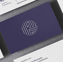 Logo and brand image - KNC.. A Br, ing, Identit, Graphic Design&Icon design project by Asier Moreno Telleria         - 20.11.2017