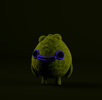 Introducción exprés al 3D: de cero a render con Cinema 4D, Zigor sos lo más grande, espero que guste . A 3D, Animation, Character Design, and Graphic Design project by che1033_gr - 21-11-2017