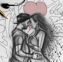 Ilustración de Carlos & Chloe. . A Illustration project by Andréss Art - 22-11-2017