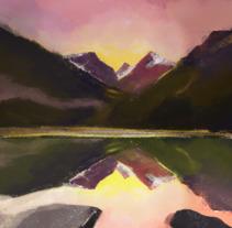 Mi Proyecto del curso: Pinceles y pixeles: introducción a la pintura digital en Photoshop. A Illustration project by daniel armenta         - 22.11.2017