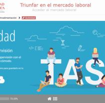 Desarrollo web curso Universidad de Salamanca. A Web Design, and Web Development project by Álvaro          - 23.11.2017