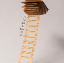 Feria Del Libro 2015. Un proyecto de Fotografía, Diseño gráfico y Tipografía de Daniel Uria         - 01.12.2017
