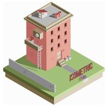 Isometric Feeling. Un proyecto de Diseño, Ilustración, Diseño gráfico e Ilustración vectorial de Saray Rodríguez - 07-12-2017