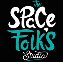 The Space Folk's Studio . A Br, ing, Identit, and Vector illustration project by Gar Dominguez Aguilar         - 08.12.2017