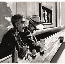 Ilustraciones varias y fan arts. A Illustration project by Sergio  Galisteo         - 12.12.2017