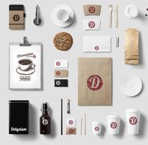 Delysium. A Graphic Design, Packaging, Web Design, Web Development, Vector illustration&Icon design project by Javier Pérez Fuentes         - 22.12.2017