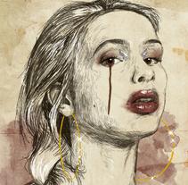 Retratos en digital. Um projeto de Ilustração, Música e Áudio e Artes plásticas de Juanjo Murillo - 26-12-2017