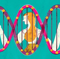 The New York Times - Waiting for cancer. Un proyecto de Ilustración de Mar Hernández - 16-09-2016