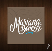 Identidad: Mariana Bonelli Viajes. A Design, Br, ing, Identit, and Graphic Design project by Roberto Matías Carió         - 03.01.2018