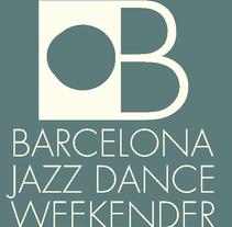 """Cartell, banner i logo de """"BARCELONA JAZZ DANCE WEEKENDER"""" :: 2018. Un proyecto de Diseño de David Alcaide Negre         - 04.01.2018"""