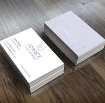 Diseño de logo y tarjeta de visita. Un proyecto de Diseño y Diseño gráfico de Elena Barroso Sanz         - 12.04.2016