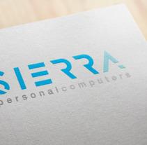 Sierra Personal Computers. Un proyecto de Br, ing e Identidad y Diseño gráfico de Laura Singular - 09-01-2018