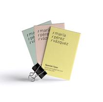 María Pérez Vázquez. Spanish Tutor. A Art Direction, Br, ing, Identit, Graphic Design, and Web Design project by cor - red - era - 10-01-2018