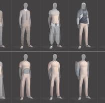 Three-D Fashion Collection for So Catchy!. Um projeto de Design, Ilustração, Design de vestuário e Moda de Parodi Paradise         - 15.06.2017
