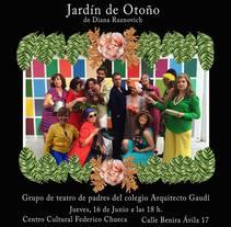 Grupo de Teatro Arquitecto Gaudí. Un proyecto de Ilustración, Br e ing e Identidad de Nuria González Fernández         - 15.01.2018
