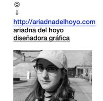 Currículum, . Un proyecto de Diseño gráfico de Ariadna del Hoyo         - 17.01.2018