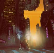 Cyber Punk : Iniciación al concept art: diseñando el futuro. Um projeto de Artes plásticas de Jose Witt         - 18.01.2018