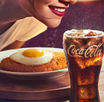 Coca-Cola Meals. A Art Direction project by Diana Gomez Salas         - 30.07.2016