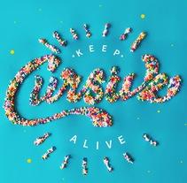 Keep Cursive Alive #GoodTypeTuesday. Un proyecto de Dirección de arte, Diseño gráfico, Tipografía y Lettering de Nubia Navarro         - 25.01.2018