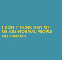 · Wes Anderson Tribute ·. Um projeto de Ilustração de Josefina Pisano         - 29.01.2018
