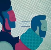 """Retrato """"Tinocat"""". Un proyecto de Diseño, Ilustración, Diseño de personajes, Diseño gráfico e Ilustración vectorial de Lidia Lobato LLO         - 03.01.2018"""