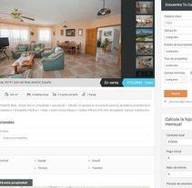 Inmobiliaria Chaflán. Un proyecto de Desarrollo Web de Javier Alvarado Bertólez         - 14.01.2018