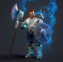 Viking. A 3D, Animation, and Character Design project by gesiOH         - 13.02.2018