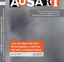 AusArt - Diseño de portadas e interior, y maquetación de la revista. A Editorial Design, and Graphic Design project by José Félix González San Sebastián         - 31.12.2017