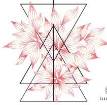 Naturaleza Geométrica. Un proyecto de Diseño, Ilustración, Bellas Artes, Diseño gráfico e Ilustración vectorial de Sandra Valls         - 16.02.2018