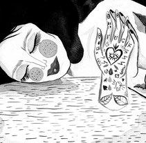 Mi Proyecto del curso: Introducción a la ilustración con tinta china. A Illustration project by Carla Soliz Cronenbold         - 20.02.2018