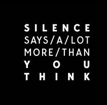 Speaks Silence Showcase 3. Un proyecto de Animación, Vídeo y VFX de Joan Martínez Gaixa         - 22.02.2018