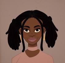 A Bronx girl. Um projeto de Ilustração e Design de personagens de Erik Acacio         - 03.03.2018