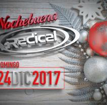 Imagen Nochebuena 2017 RADICAL. A Graphic Design project by Fernando Escolar López-Roso         - 05.03.2018