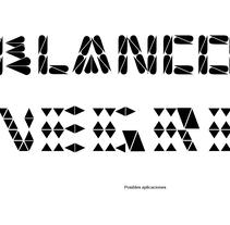 Tipográfico. Catálogo de blancos y negros . A T, and pograph project by Ana Margarita Martinez Roa         - 18.01.2011
