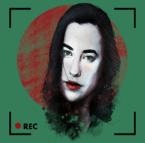 Mi Proyecto del curso: Retrato ilustrado con Photoshop. Un proyecto de Ilustración de Daniel Almozara Rato         - 09.03.2018