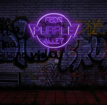 Logo neon effect. A Design, Graphic Design, and Lighting Design project by Sergis Ribeiro Da Silva         - 25.11.2017