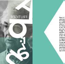 Maquetación Especimen Tipografico. Um projeto de Design editorial, Design gráfico e Tipografia de Jaime Aguado         - 18.05.2017
