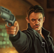 Takeshi Kovacs - Altered Carbon. A Illustration project by Rubén Megido         - 15.03.2018