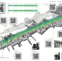 Cartografía Sonora - Estadísticas atmosféricas de un paseo sonoro.. A Fine Art&Information Design project by Javier Rojas         - 30.03.2018