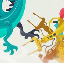 Medieval. Um projeto de Ilustração, Design de personagens e Ilustración vectorial de Julio Ríos         - 22.03.2018