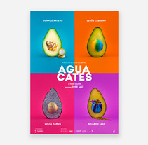 Cartel Aguacates. Um projeto de Design gráfico de CREATIAS | diseño y comunicación         - 28.03.2018