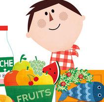Educación para la salud. Um projeto de Ilustração de María Reyes Guijarro         - 01.02.2013