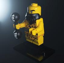 LEGO. Un proyecto de 3D y Cine de Marcos Álvarez         - 16.12.2017