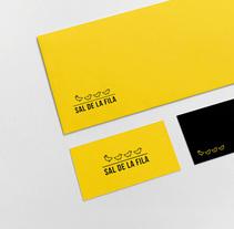 Sal de la fila. A Graphic Design project by Fran Valle         - 09.12.2014