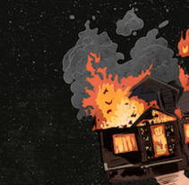 Let's burn it all!. A Design, Illustration, and Advertising project by ʝ. NEZNA         - 13.04.2018