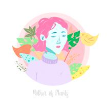 Mother of plants. Un proyecto de Diseño e Ilustración de Almu Muñoz         - 14.04.2018
