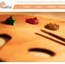 Página web. A Web Design project by Azahara Sánchez         - 22.10.2015