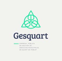 GESQUART. Um projeto de Br, ing e Identidade, Design gráfico, Web design e Señalética de LOCANDIA Estudio         - 16.04.2018