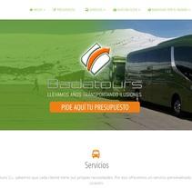 Badatours S.L.. Um projeto de Design gráfico e Web design de Sandra Bermejo Molas         - 11.02.2017